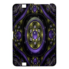 Fractal Sparkling Purple Abstract Kindle Fire HD 8.9