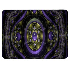 Fractal Sparkling Purple Abstract Samsung Galaxy Tab 7  P1000 Flip Case