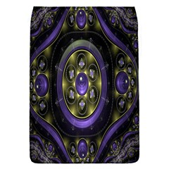 Fractal Sparkling Purple Abstract Flap Covers (S)