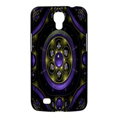 Fractal Sparkling Purple Abstract Samsung Galaxy Mega 6 3  I9200 Hardshell Case