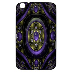 Fractal Sparkling Purple Abstract Samsung Galaxy Tab 3 (8 ) T3100 Hardshell Case