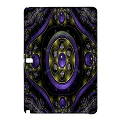 Fractal Sparkling Purple Abstract Samsung Galaxy Tab Pro 12 2 Hardshell Case