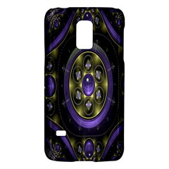 Fractal Sparkling Purple Abstract Galaxy S5 Mini