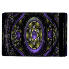 Fractal Sparkling Purple Abstract iPad Air 2 Flip