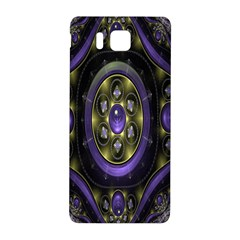 Fractal Sparkling Purple Abstract Samsung Galaxy Alpha Hardshell Back Case