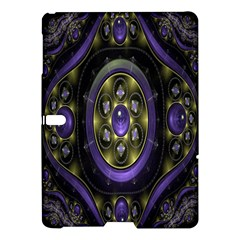 Fractal Sparkling Purple Abstract Samsung Galaxy Tab S (10.5 ) Hardshell Case