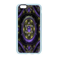 Fractal Sparkling Purple Abstract Apple Seamless iPhone 6/6S Case (Color)