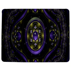 Fractal Sparkling Purple Abstract Jigsaw Puzzle Photo Stand (Rectangular)
