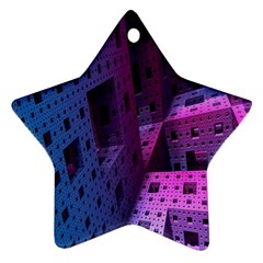 Fractals Geometry Graphic Ornament (Star)