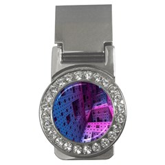 Fractals Geometry Graphic Money Clips (CZ)