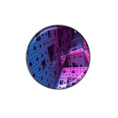Fractals Geometry Graphic Hat Clip Ball Marker