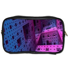 Fractals Geometry Graphic Toiletries Bags 2 Side