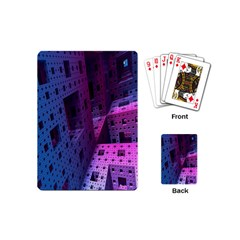 Fractals Geometry Graphic Playing Cards (Mini)