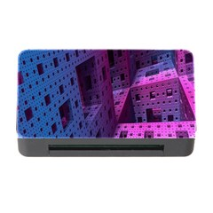 Fractals Geometry Graphic Memory Card Reader With Cf
