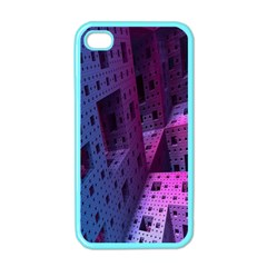 Fractals Geometry Graphic Apple iPhone 4 Case (Color)