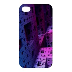 Fractals Geometry Graphic Apple iPhone 4/4S Hardshell Case