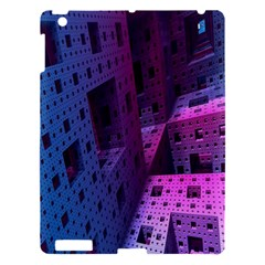 Fractals Geometry Graphic Apple Ipad 3/4 Hardshell Case