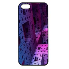 Fractals Geometry Graphic Apple Iphone 5 Seamless Case (black)