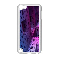 Fractals Geometry Graphic Apple iPod Touch 5 Case (White)