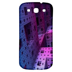 Fractals Geometry Graphic Samsung Galaxy S3 S Iii Classic Hardshell Back Case