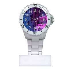 Fractals Geometry Graphic Plastic Nurses Watch