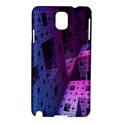 Fractals Geometry Graphic Samsung Galaxy Note 3 N9005 Hardshell Case