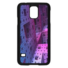 Fractals Geometry Graphic Samsung Galaxy S5 Case (Black)