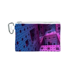 Fractals Geometry Graphic Canvas Cosmetic Bag (S)