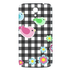 Cute Spring Pattern Samsung Galaxy Mega I9200 Hardshell Back Case