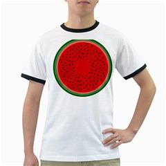 Watermelon Ringer T-Shirts
