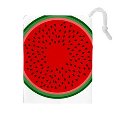 Watermelon Drawstring Pouches (Extra Large)