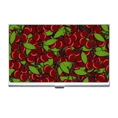 Cherry pattern Business Card Holders