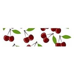 Cherry pattern Satin Scarf (Oblong)