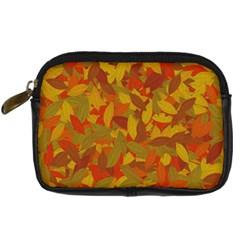 Orange autumn Digital Camera Cases