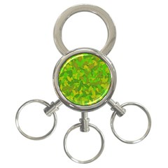 Green autumn 3-Ring Key Chains