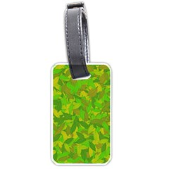Green autumn Luggage Tags (One Side)