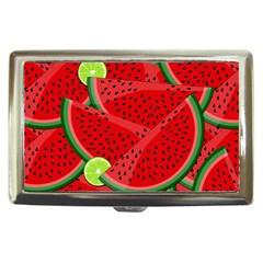 Watermelon slices Cigarette Money Cases