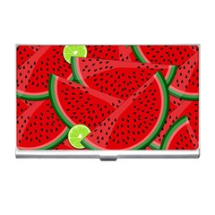 Watermelon slices Business Card Holders