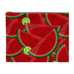 Watermelon slices Cosmetic Bag (XL)