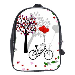 Love design School Bags(Large)