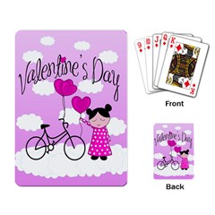 Pink daydream  Playing Card