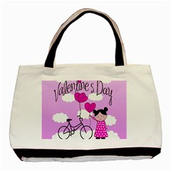 Pink daydream  Basic Tote Bag (Two Sides)