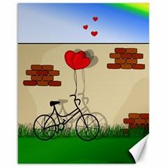 Secret love Canvas 16  x 20