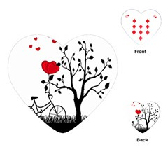 Love Hill Playing Cards (Heart)