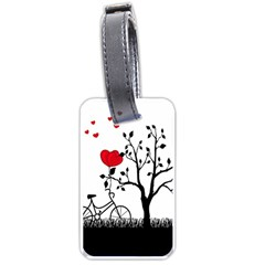Love Hill Luggage Tags (One Side)