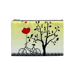Romantic sunrise Cosmetic Bag (Medium)