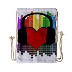 Music Drawstring Bag (Small)
