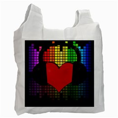 Love Music Recycle Bag (Two Side)