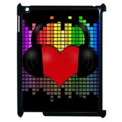 Love Music Apple Ipad 2 Case (black)