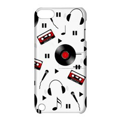 Music Pattern Apple Ipod Touch 5 Hardshell Case With Stand